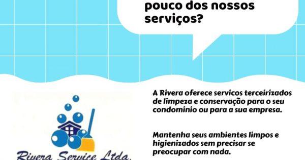 Rivera Service Limpadora - Notícias e Novidades Conheça Um Pouco dos Nossos Serviços