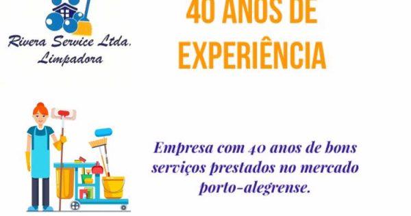 Rivera Service Limpadora - Notícias e Novidades São 40 anos de experiência no ramo