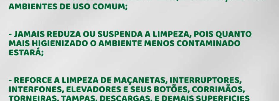 Rivera Service Limpadora - Notícias e Novidades Dicas para manter-se longe do coronavírus